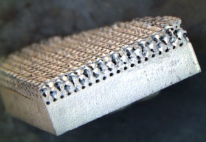 Porous Titanium 3D Ingrowth Section